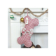 New Cute Plaid Bow Christmas Door Hanging