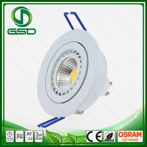 High quality dimmable 5w 7w Cob Led Spotlight mr16 12v 3000k replace hologen light