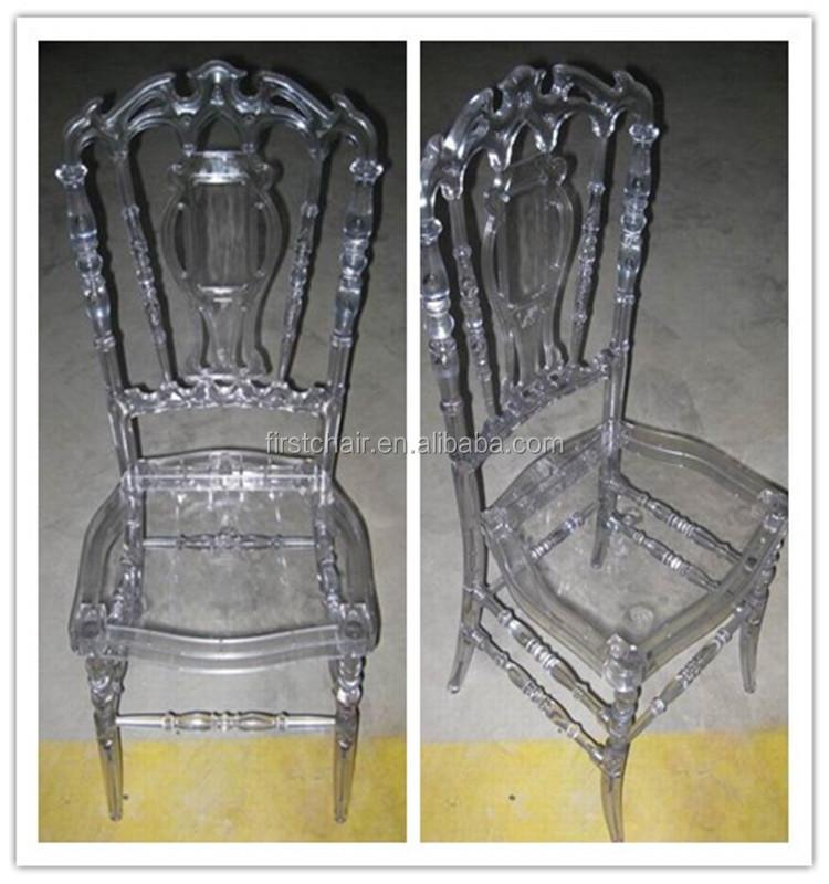 Polycarbonate Wedding Royal Crown Chair For Sale Hm pc33 2