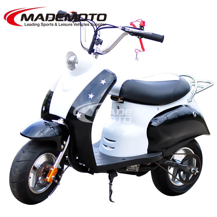 200cc pull starter stand up gas scooter