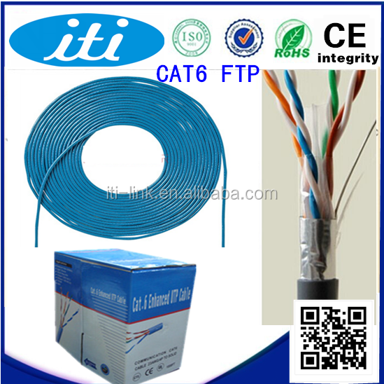 Precios de bajo coste cat 6/cat 5 ftp/utp ethernet cable de datos especificaciones