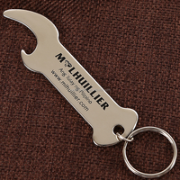 Free Sample Cheap Promotional Custom Beer Bottle Opener, Simple Metal Stainless Steel Bottle Openers With Keychains