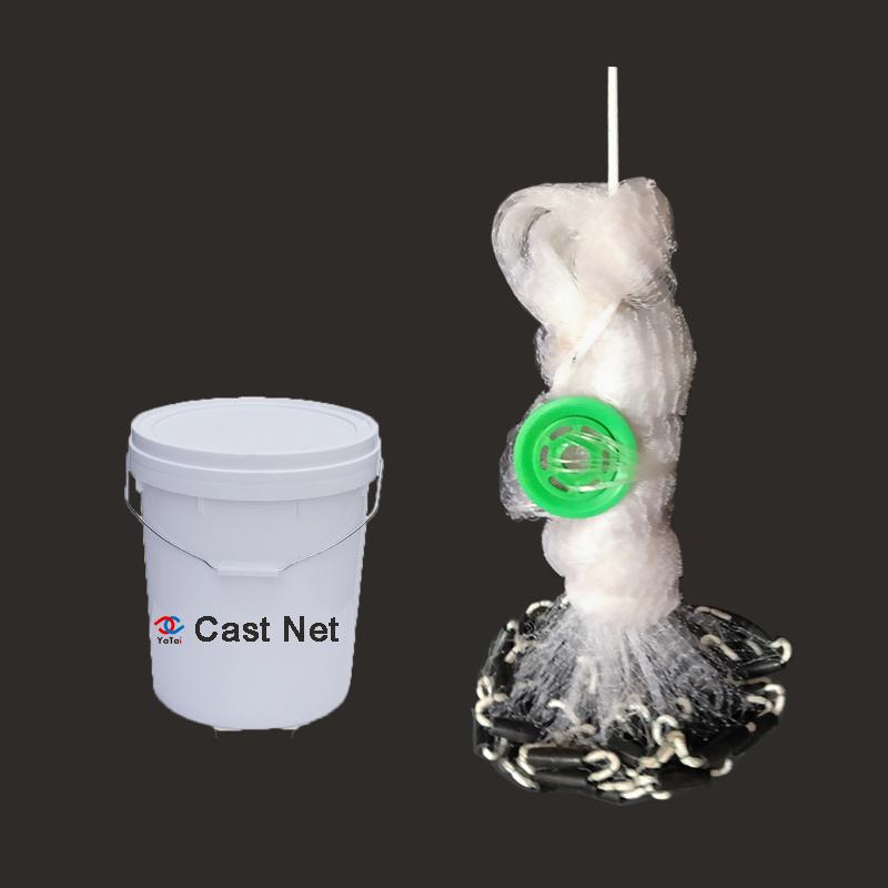 Environmentally cast net 4ft-12ft 3/8