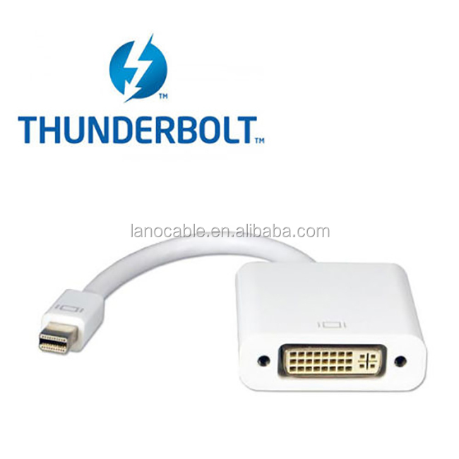 wholesale thunderbolt cable 24+5pin DVI female to male mini DP adapter