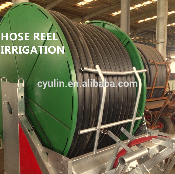 Water reel irrigation systems sprinkler with