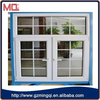 French Types House Windows Plastic With Grill Design
