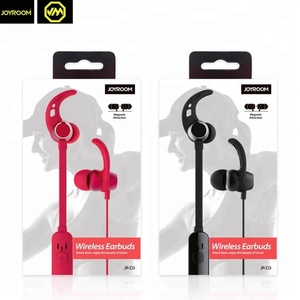 JOYROOM 2018 in ear handfree S8 earpiece waterproof wireless blutooths headphone earphones magnetic sport stereo