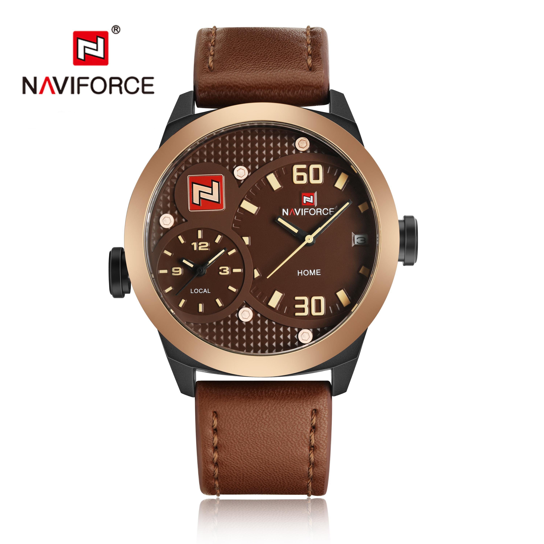 Naviforce 9092 Men Watch Water proof Sport Genuine Leather Charm  Wristwatch, View sport watch, NAVIFORCE Product Details from Guangzhou Naviforce  Watch Co., Ltd. on Alibaba.com