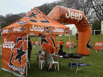 3x3m Pop up canopy printed tent/Jeep advertising gazebo/Exhibition tent & 3x3m Pop Up Canopy Printed Tent/jeep Advertising Gazebo/exhibition ...