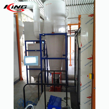 KX-PCL powder coating cyclone booth