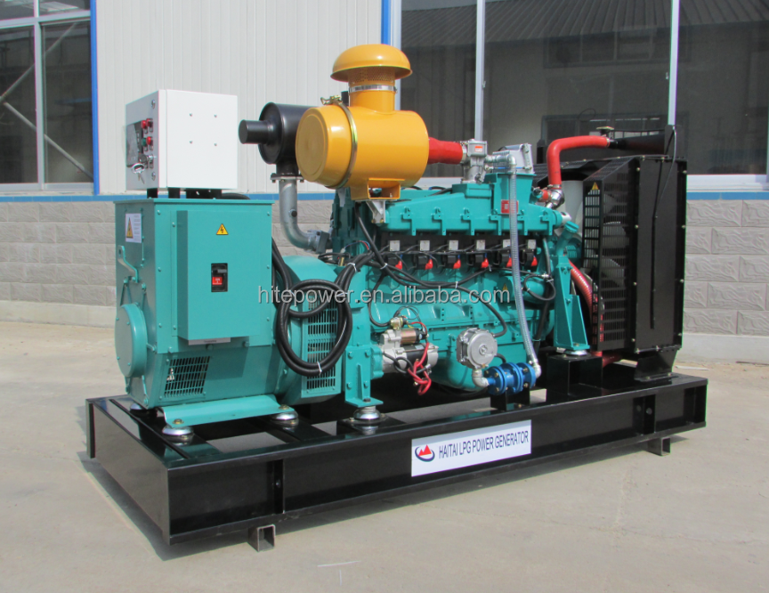 Water Cooled 16kw to 160 kw Natural gas Generator with Cummins engine