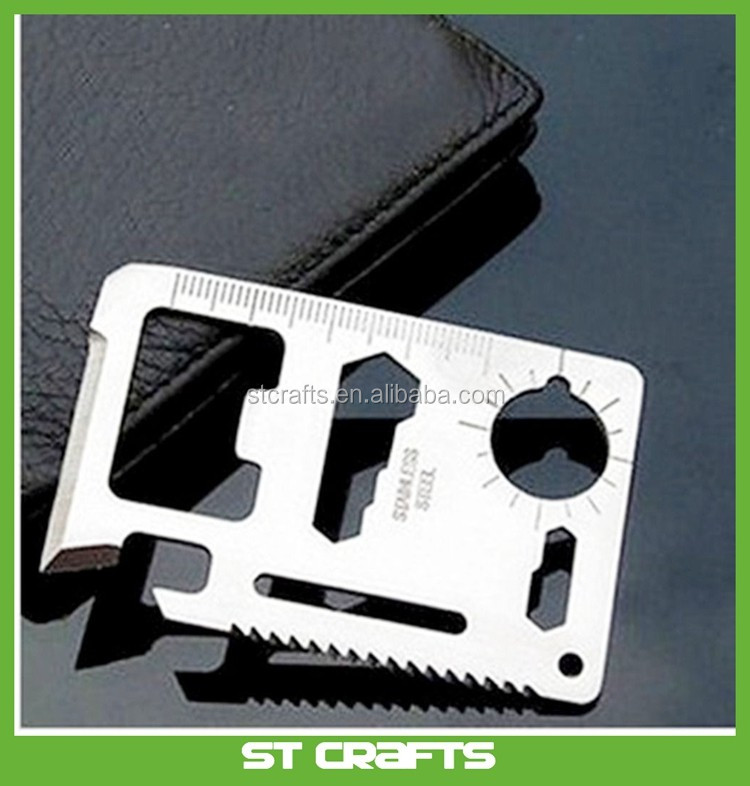 11-1 Multi-function Survival Pocket Knife Multi Mini Saw Camping Tool  Credit Card Knife - Buy Credit Card Knife,Pocket Knife,Credit Card Pocket  Tool