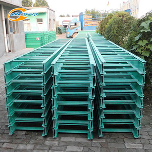 Manufacture FRP GRP Ladder Tray Cable Trays and Support System