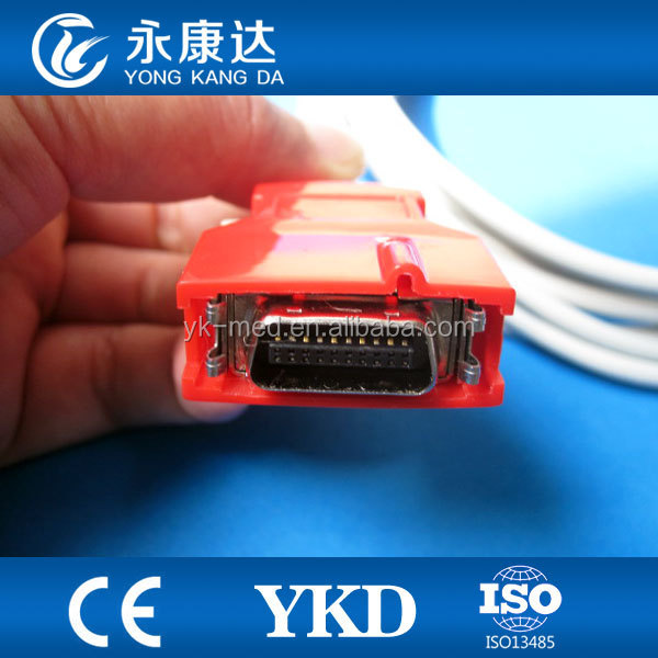 Rainbow red 20pin 3M CE&ISO13485 certificated approved Adult finger clip spo2 sensor
