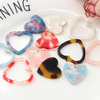 unique acetic acid acrylic charms jewelry accessories 2019 new design acrylic heart charms hot acrylic jewelry components