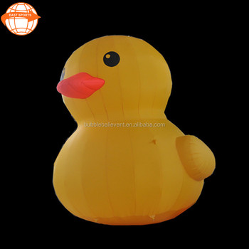 Giant Promotion Inflatable Yellow Rubber Water Duck For ...