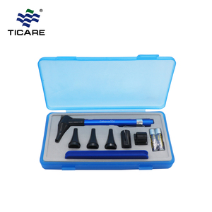 CE ISO Approved LED Diagnostic Equipment Portable Fiber Optical Professional Ear Otoscope