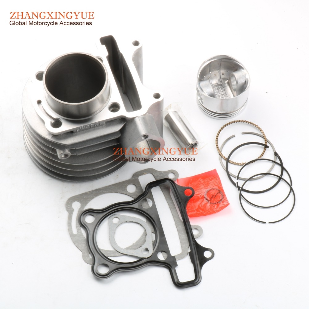 FLASH SALE] 52 4mm Cylinder Kit for SYM Fiddle 125cc 12100