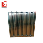 Durable grease filter mesh economic exhaust range hood baffle grease filter