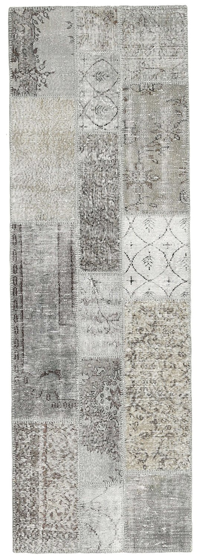 "Patchwork rug 2'7""x8'1"" (80x246 cm) Oriental, Runner Carpet"