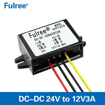 DC24V To DC12V 10A 120W Step Down Power Supply Converter Regulator Module nw