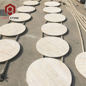 Excellent Quality Room Furniture Wholesale Round Marble Slab Table Top