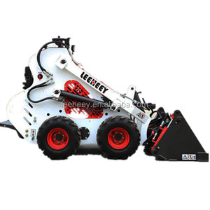 tires driving control mini skid steer loader small wheeled for sale