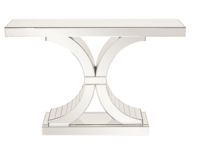 Mirror Hall Table hot selling double c mirrored hall table/side table/console table