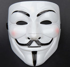 2015 Hot vente parti masques V pour Vendetta masque Guy Fawkes anonyme Fancy Dress Costume accessoire parti Cosplay masques