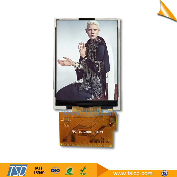 2,8-Zoll-TFT-LCD-Display 240x320 resistives Touchscreen-Modul