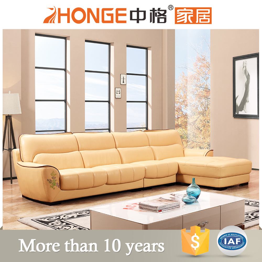 import home furniture kuka sectional leather sofa hot saling arabic design