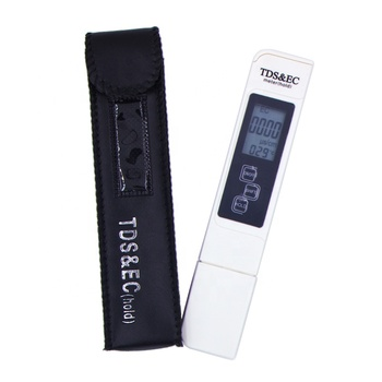 New TDS EC Meter Temperature Tester pen 3 In1 Function Conductivity Water Quality Measurement Tool TDS&EC Tester 0-9999ppm