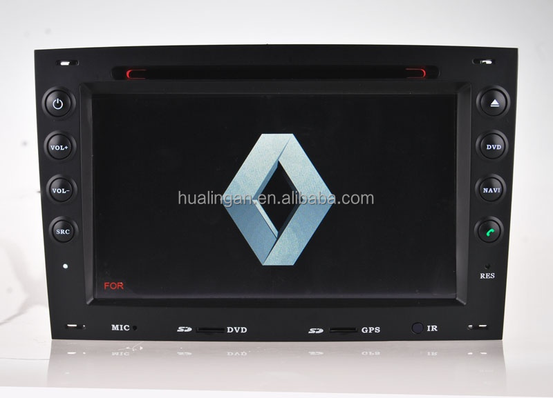 HLA car dvd player for Renault Megane/Symbol gps navigation radio music can bus box tv bluetooth
