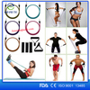 new arrivals 2016 Fitness 11 pcs Yoga Resistance Bands,Natural latex yoga exercise tube resistance band