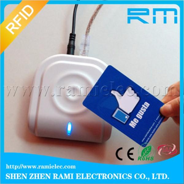 Credit Card Size S50 compatibel chip blanco F08 rfid card