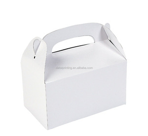 custom printing colorful paper take away party treat cake boxes