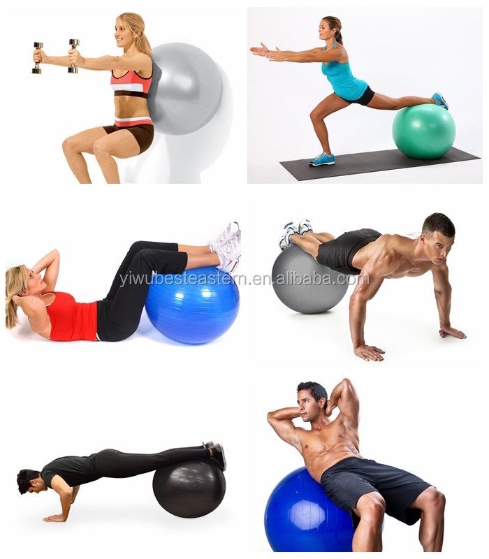 Easy Clean Workout Stability Ball