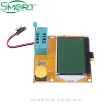 Smart Electronic LCD Backlight ESR Meter Led Transistor Tester MOS/PNP/NPN Yellow-green PCB