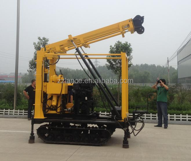 portable well drilling machine