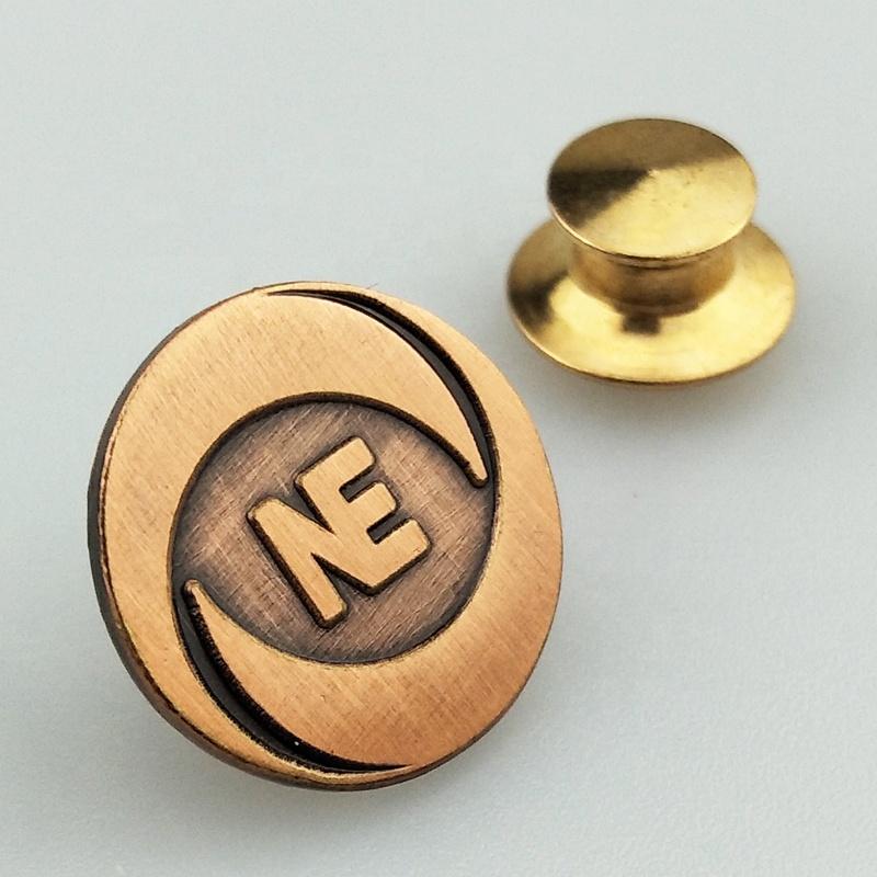 wholesale custom metal name badge hard soft enamel lapel pin