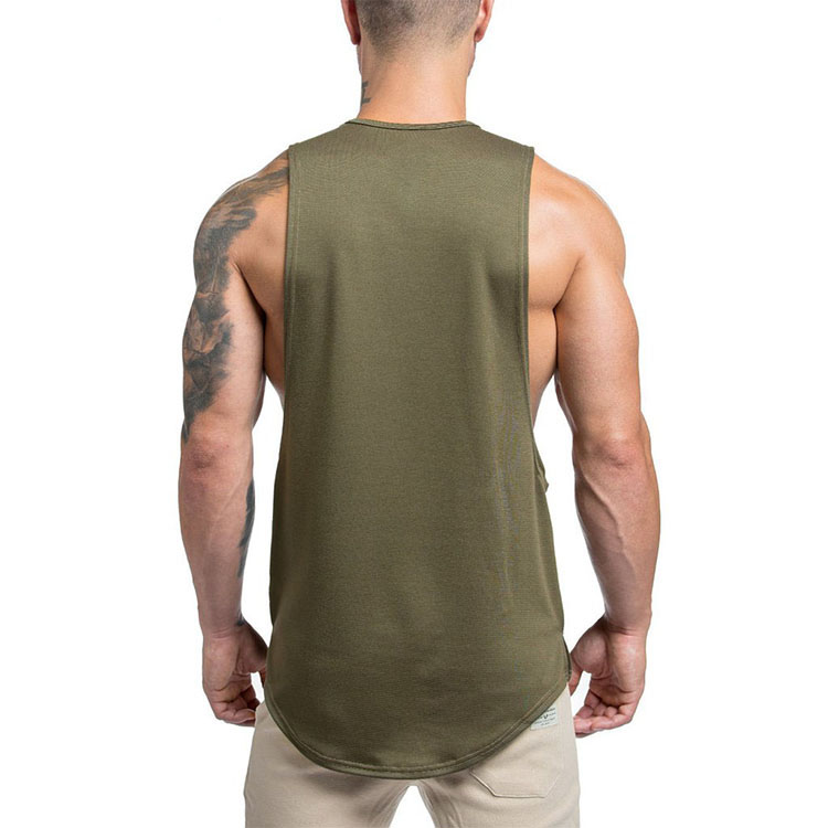 2019 New Arrival custom tank top bodybuilding clothing mens gym stringer