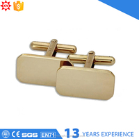 New design exported blank cufflink sets