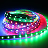 DC12V/5v 8208 Ic SMD5050 RGB addressable led pixel tape Signal Break-point Continuous Digital addressable Led pixel Strip