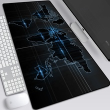 Extended Antislip Rubber Custom Grote Wereldkaart Gaming Mouse Pad Mat Tapijt Grote <span class=keywords><strong>Muismat</strong></span>