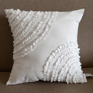 Hot sale bolster pillow white throw pillows living room cushions