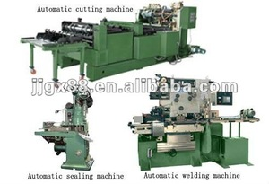 metal drum manufacturing equipment