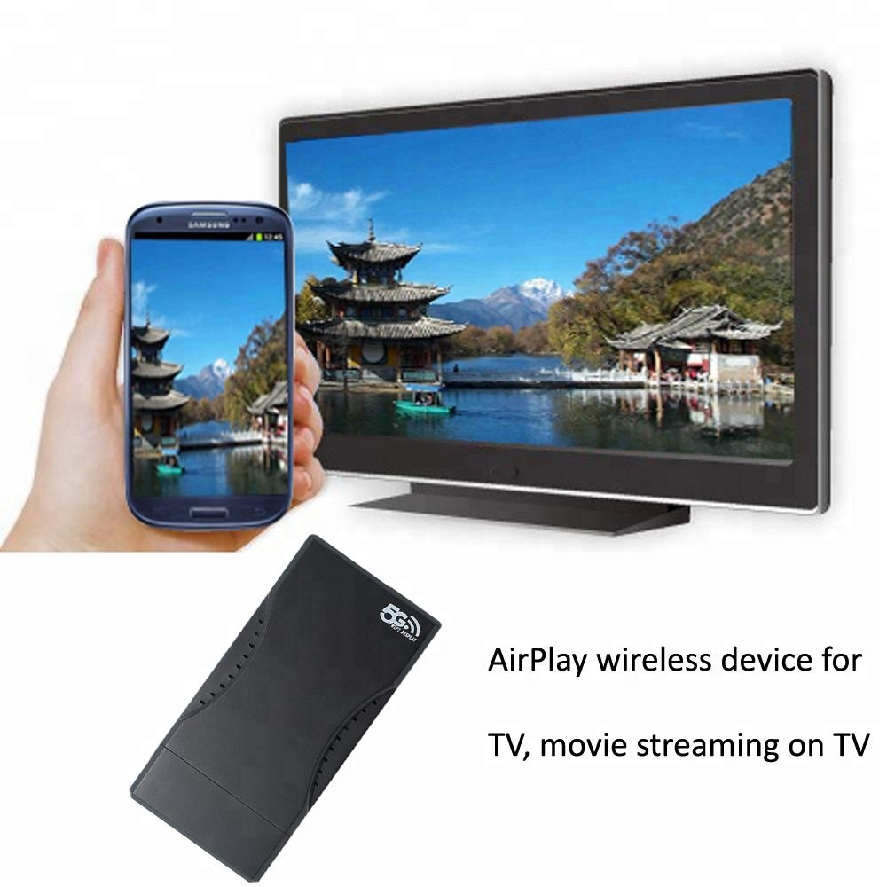 Wireless Wifi Display Receiver 5g Screen Mirroring Share TV Dongle