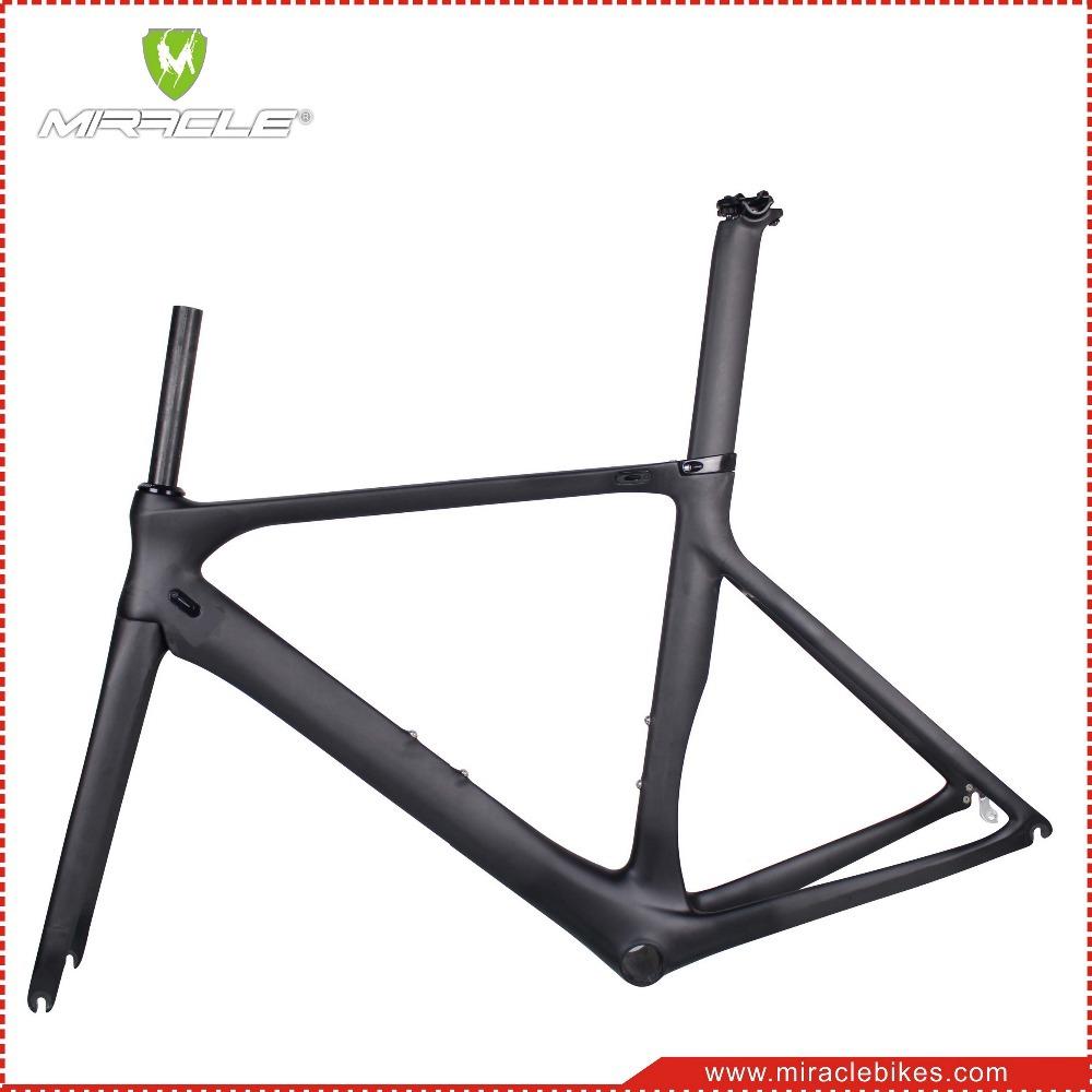 Miracle Bikes Internal Cable Bicycle Bike Carbon Frameset,Bb86 Road ...