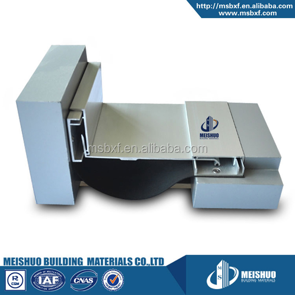 drywall interlocking aluminum expansion joint for buildings