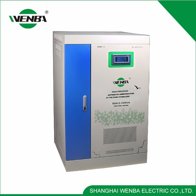 Delay Protection 100 Kva Automatic Voltage Stabilizer Used For Ventilators